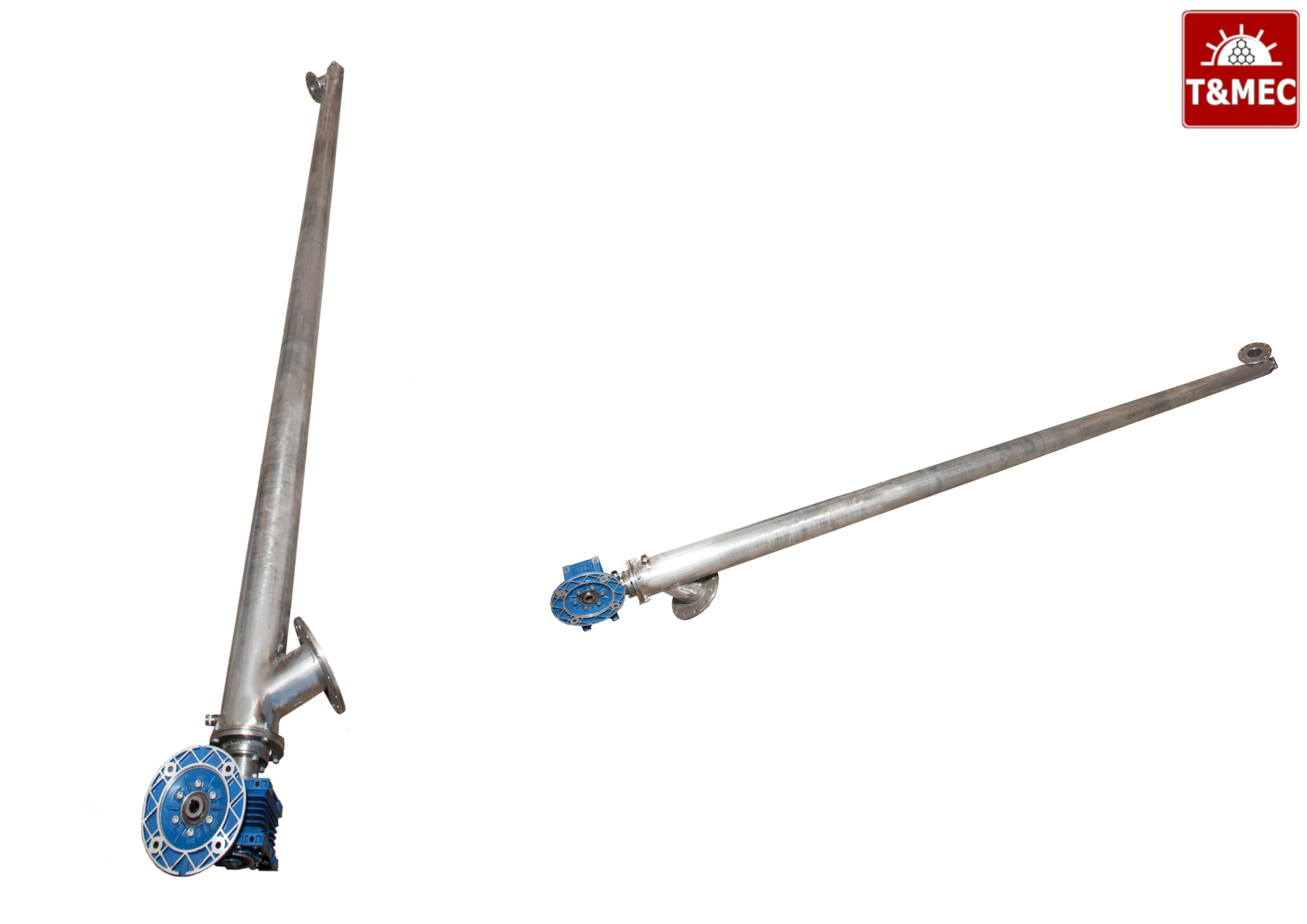 Cooling Screw Conveyors and Screw dryers