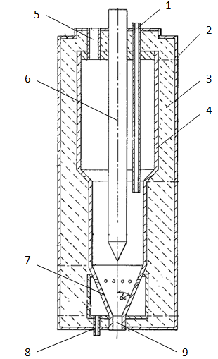 Electrothermal fluidized bed furnace for treating carbon material