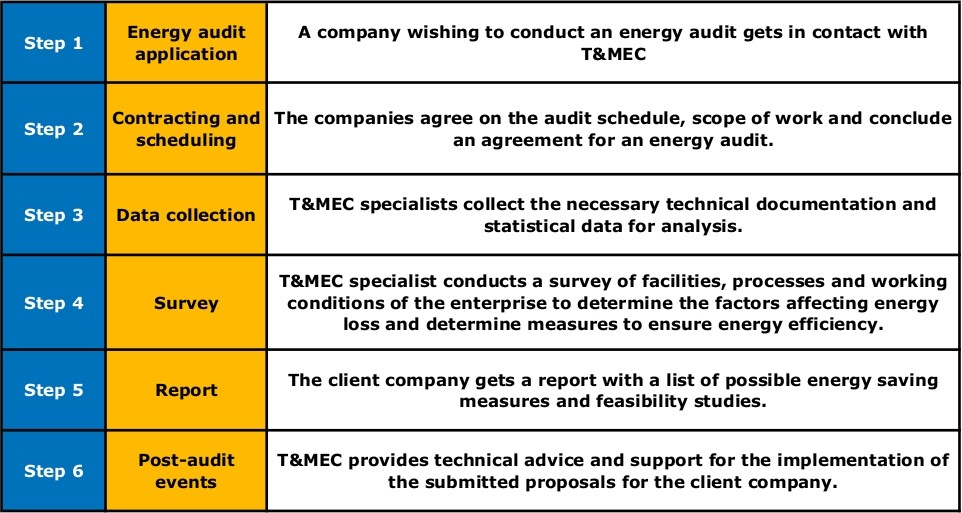 Energy audit TMEC